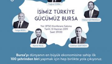 İşimiz Gücümüz Türkiye Bursa Etkinliği Gerçekleştirildi.